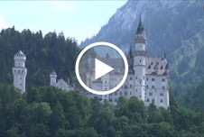Skandal am Schloss Neuschwanstein - Russisches Teenie Touri Girl