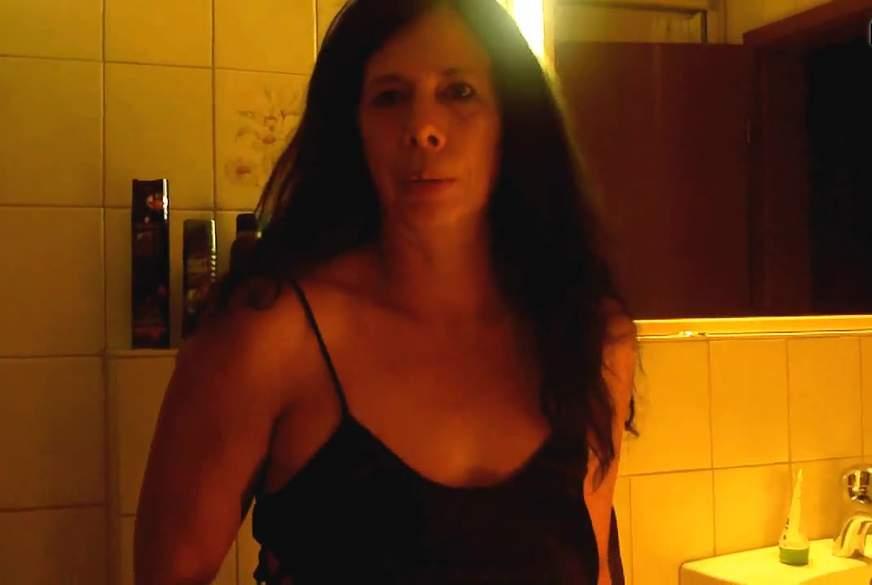 Mal eben in die Toilette g*****t