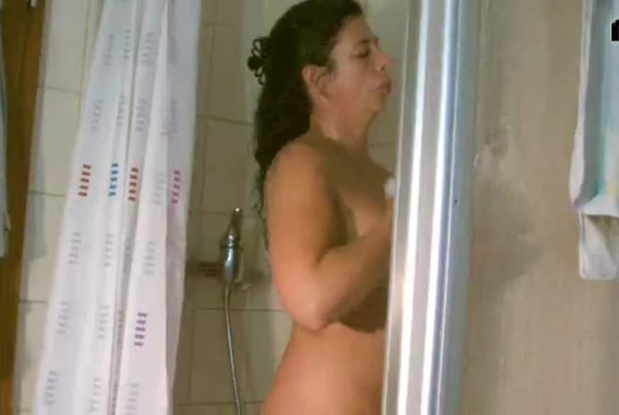 Spass in der Dusche
