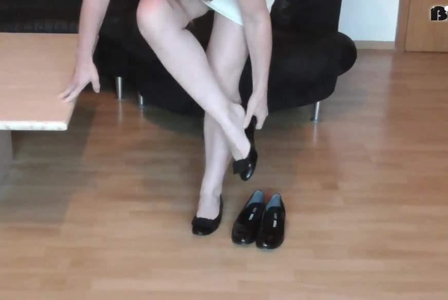 In den Schuhen meiner Freundin...