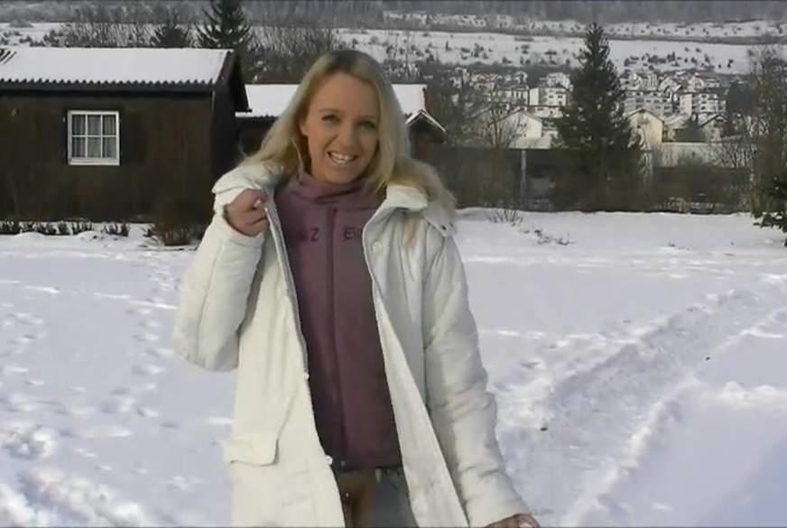 D*******k im Schnee