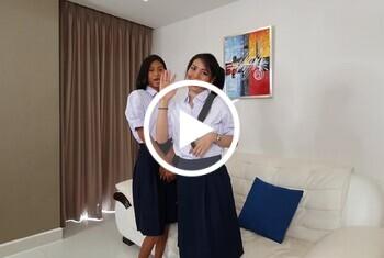 Pikka-Thai und Party-Thai - Geile D***o Spiele nach der Uni
