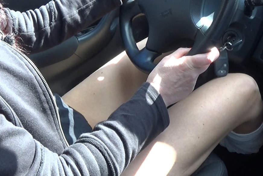 Morgens im Auto  p2