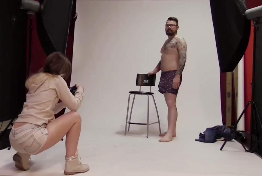 W****ges F**kfleisch beim Fotoshooting