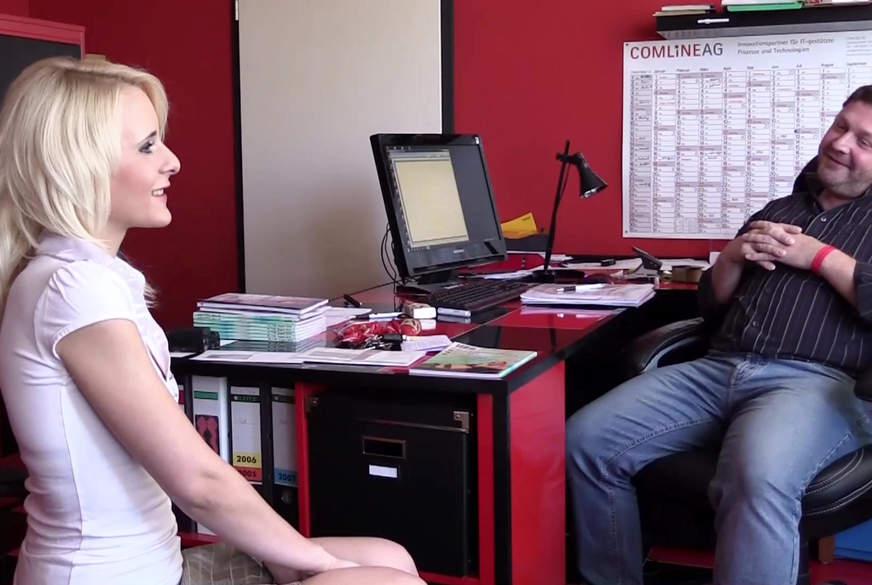 Vorstellungsgespräch als Sekretären