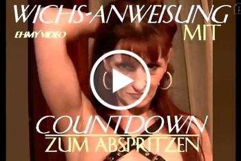Wichs-Anweisung mit Countdown