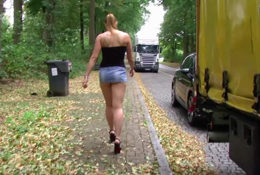 Titten und F***e fuer die Trucker