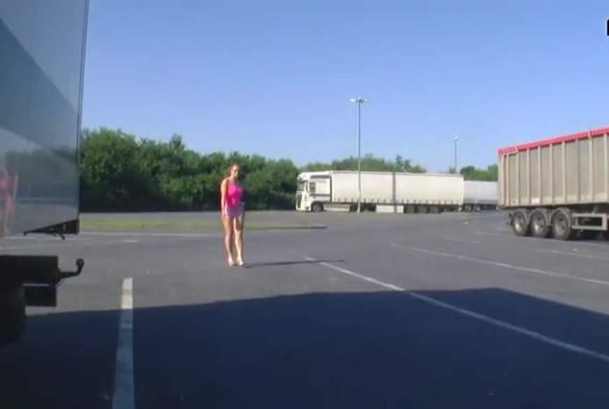 Truckerparkplatz gesegnet