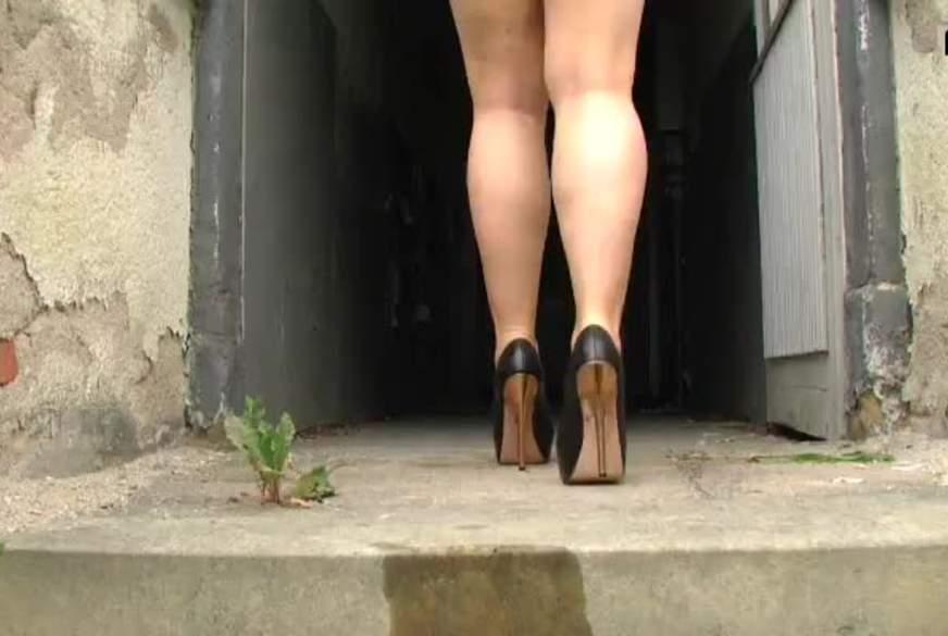 Long Legs on Heels