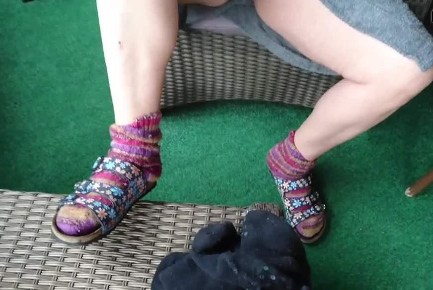 Socken und Latschen   -Outdoor SMOKE-