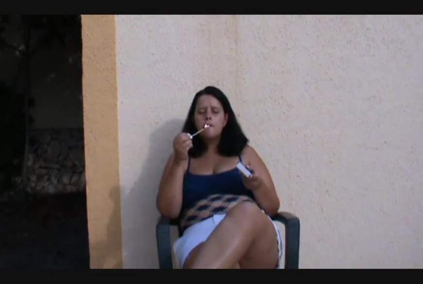 Sexy Raucherpause