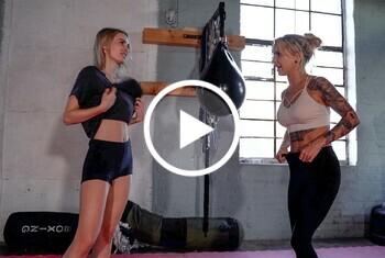 Was Mädels heimlich beim Sport treiben