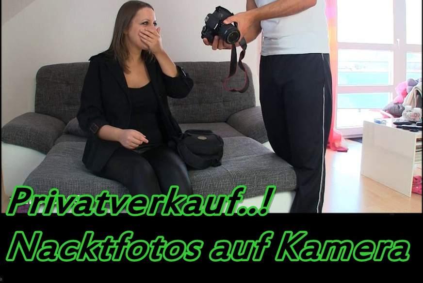 Privatverkauf..! Nacktfotos auf Kamera
