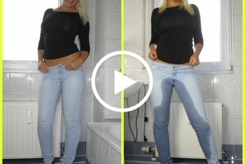 Ich pinkle in meine Jeans..!