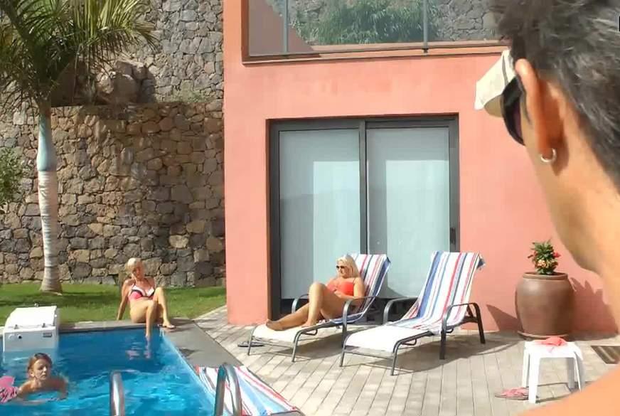 Krasses C*****t-Finale am Pool