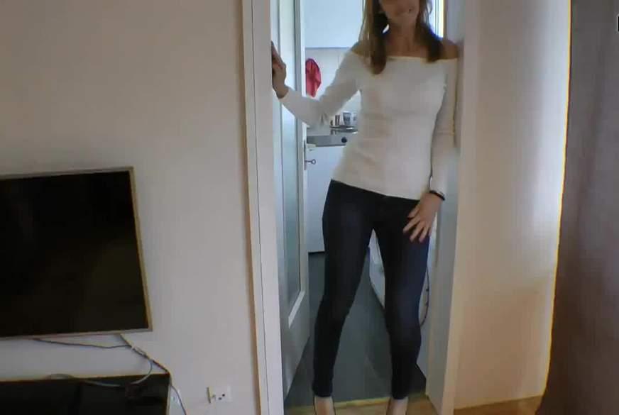 Jeans-Fetisch I C*****t für Jeans-B***h