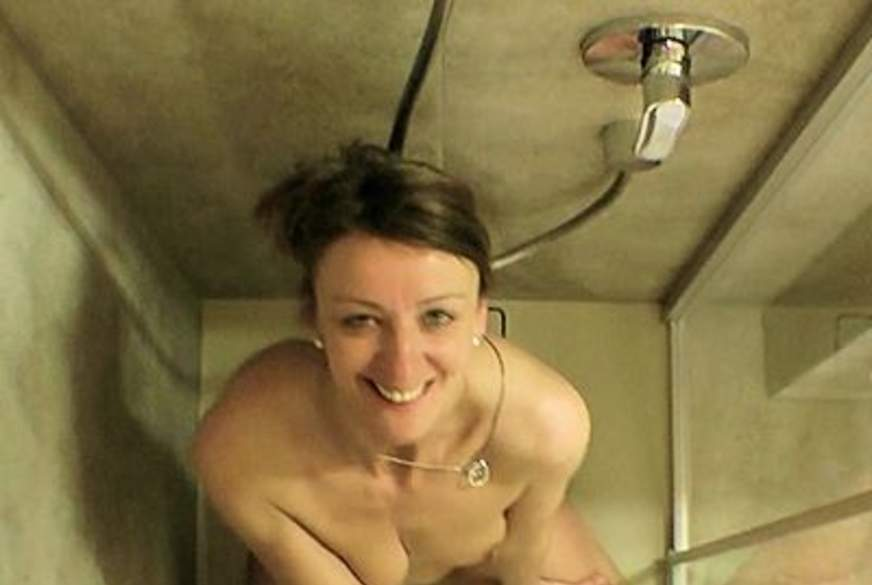 Doppelte Natursekt-Dusche