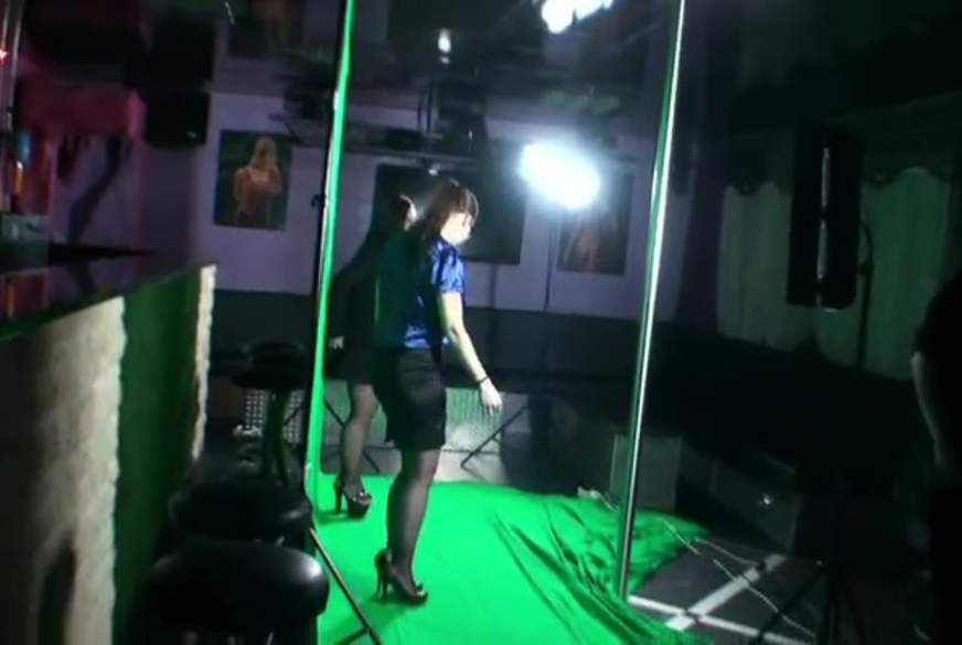 MAKING OF..dre**r im tv studio