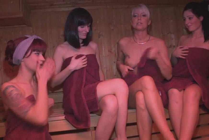 Der fremde S*****z in der Sauna !