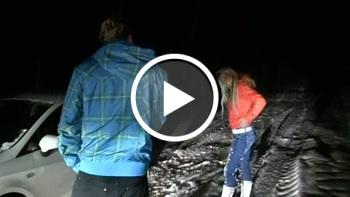 18 jähriger-heftiger F**k im Schnee