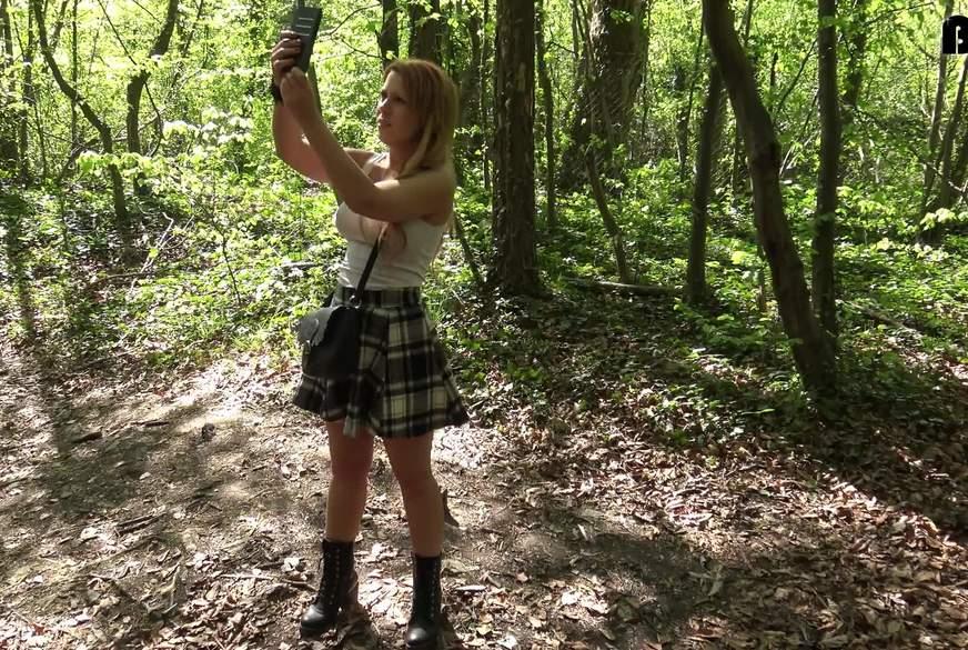 Verirrt im Wald ?!-Wanderin g******t