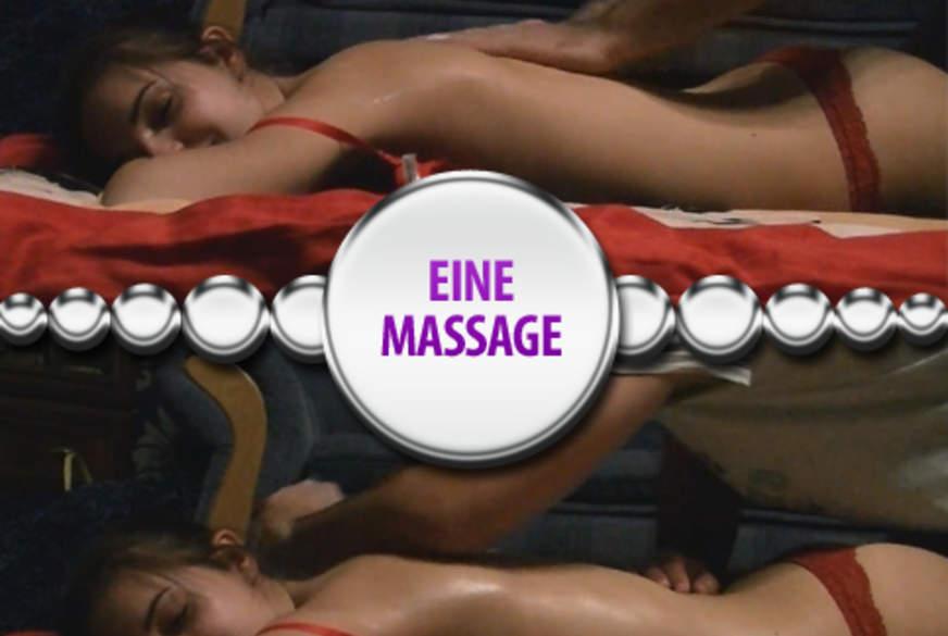 Eine Massage