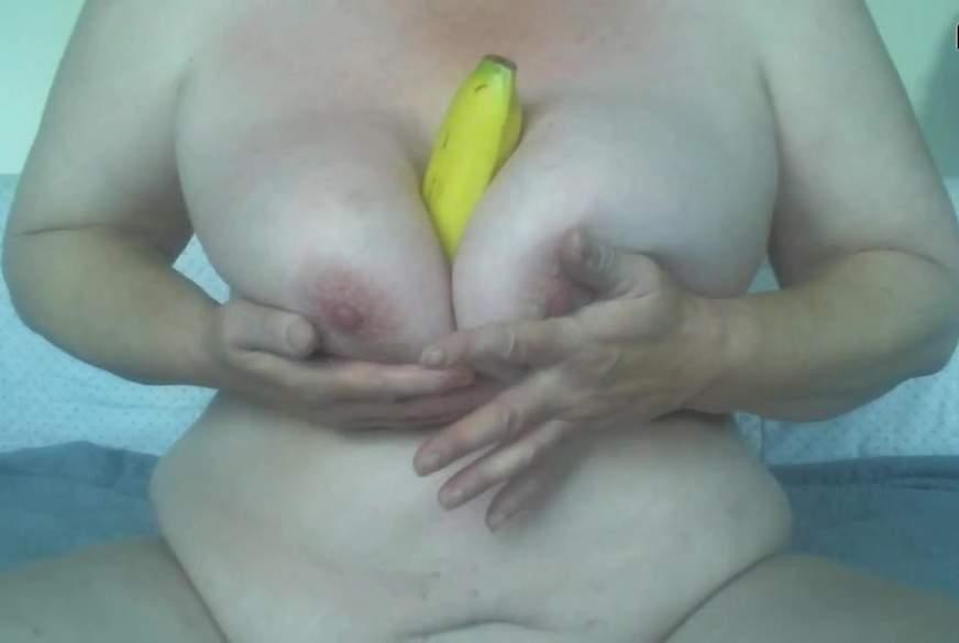 geiles mit einer Banane