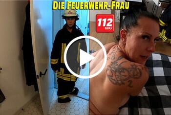 Die Feuerwehr-Frau