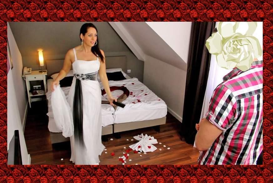 Hochzeits-F**k Vorcheck mit Schwager