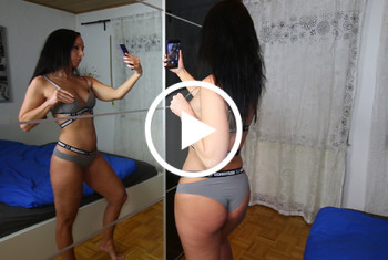 V******ter Selfie Porno mit Close-Up Szenen