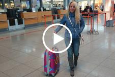 Mitten im Flughafen g*****t
