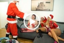 Drei nasse Fotzen für den Nikolaus!
