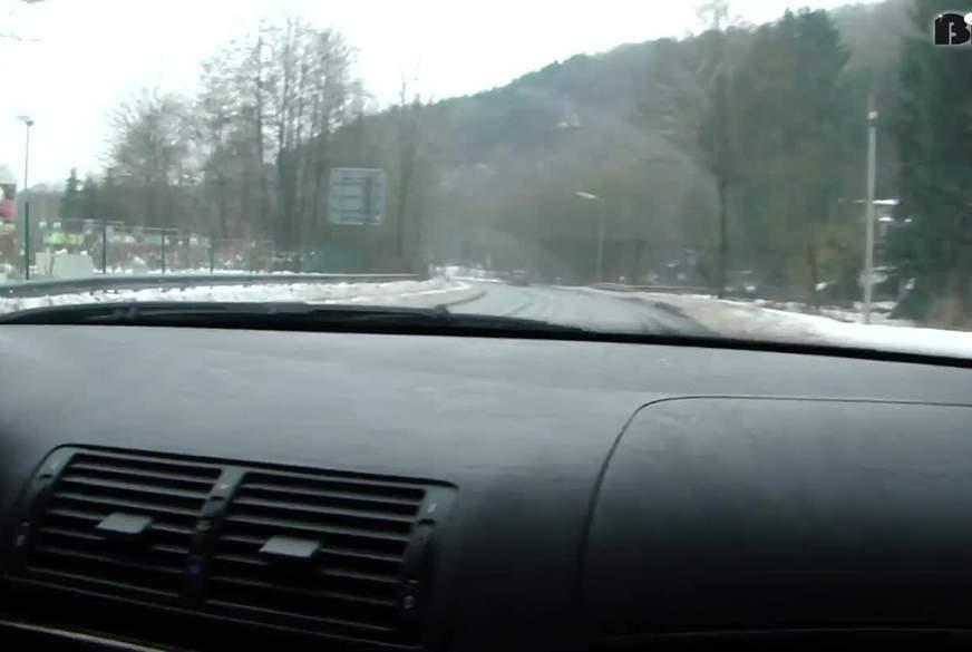 Autofahrt mit D***o