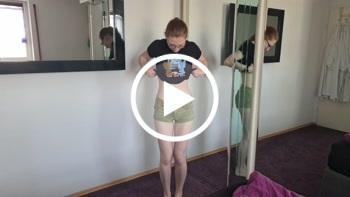 Das erste Video in Unterwäsche OMG !!!! Mach ich das wirklich ???