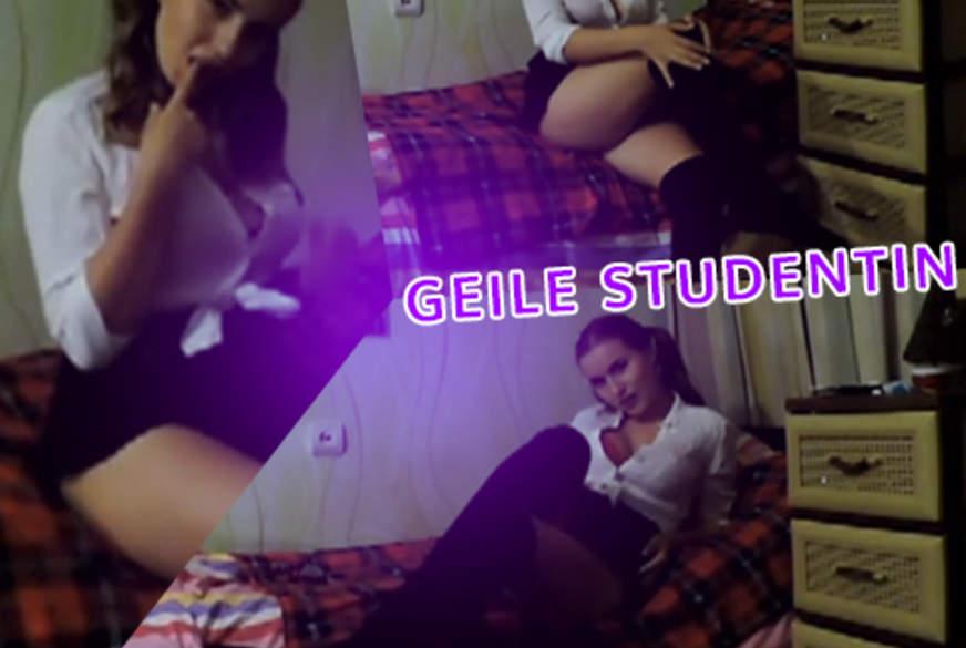 Geile Studentin