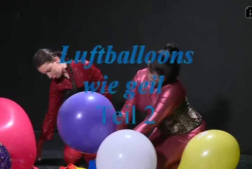 Luftballoons wie geil 2