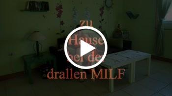 zu Hause bei der drallen MILF