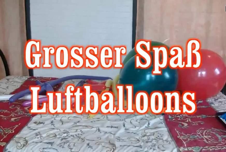 grosser Spaß Luftballoons