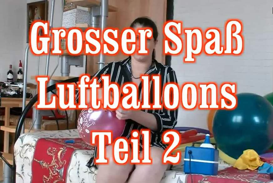 grosser Spaß Luftballoons 2