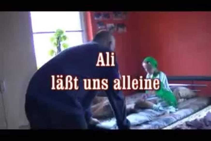 Ali läßt uns alleine