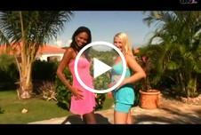 Schokobebe und Gina Blonde