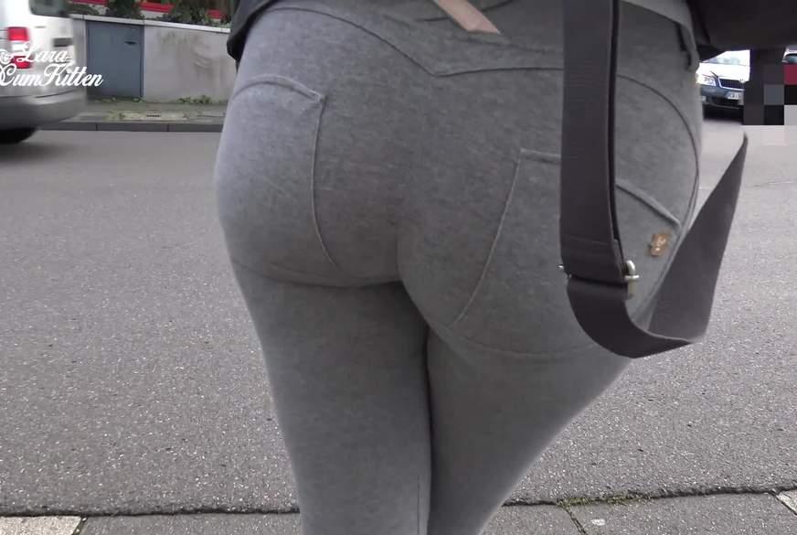 PUBLIC Leggings P**s am Geldautomaten mit public P**sWALK