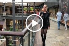HOBBY H**e im Shopping Center Z******t - Public F****l Tsunami in der Umkleid