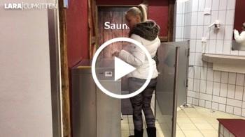 Public F***tREFFEN in der Therme - Sauna mit S****a AUFGUSS