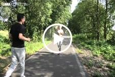 N*****le F**ks******e - BUBBLE B**t beim joggen v***********t
