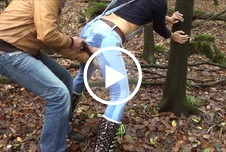 Lara-CumKitten: Wahnsinns Jeans Piss mit geilem Facial Quickie
