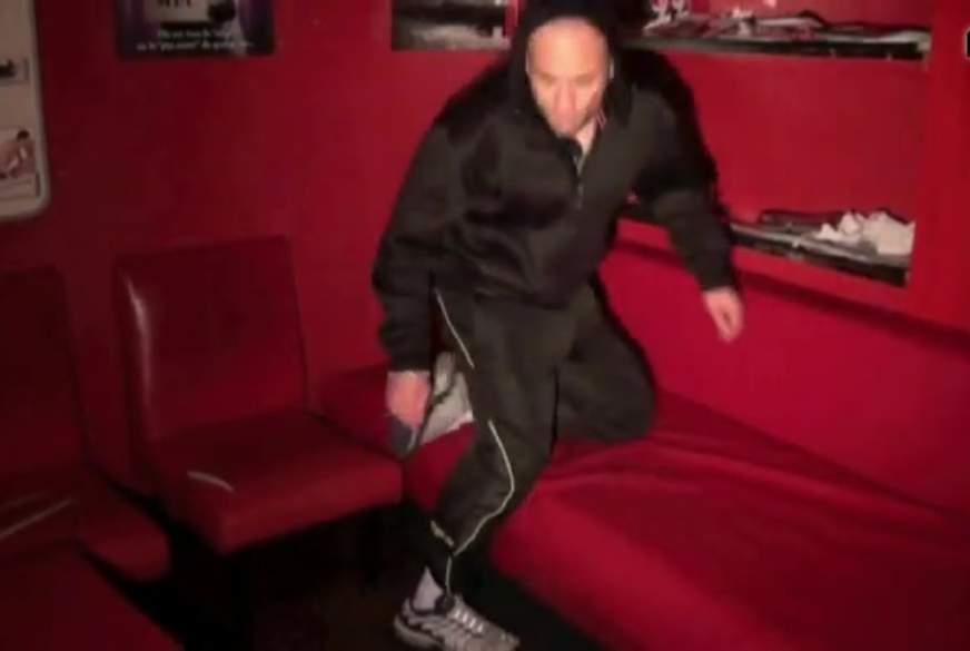 s**k party fetish guy sneakers