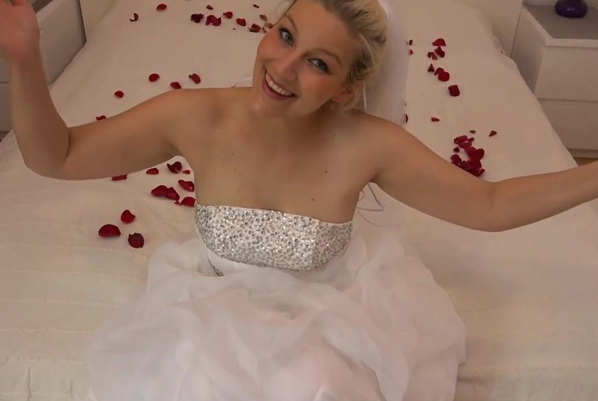 Meine Hochzeitsnacht ging voll in den A***h!!!