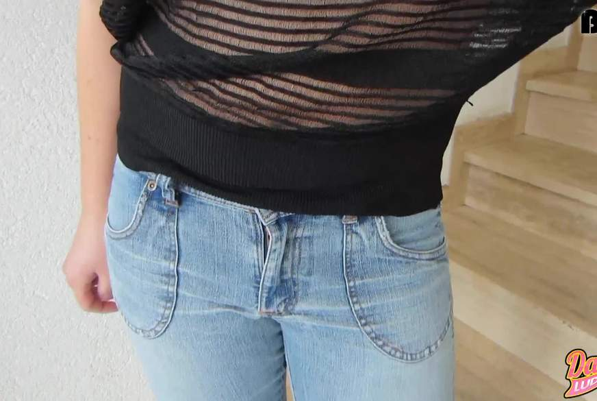 In meine Jeans g*****t