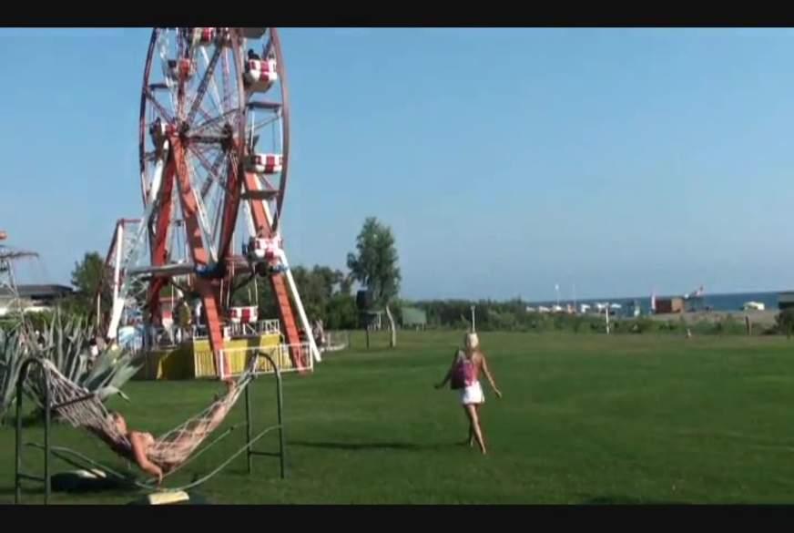 Riesenrad mit Riesenspaß!